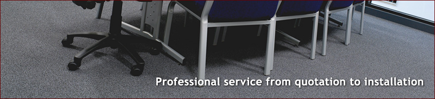 Professional service from quotation to installation